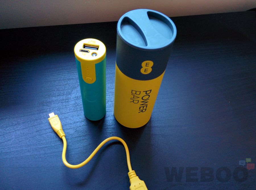 Free Battery Power Bar For EE Customers – Hands-On