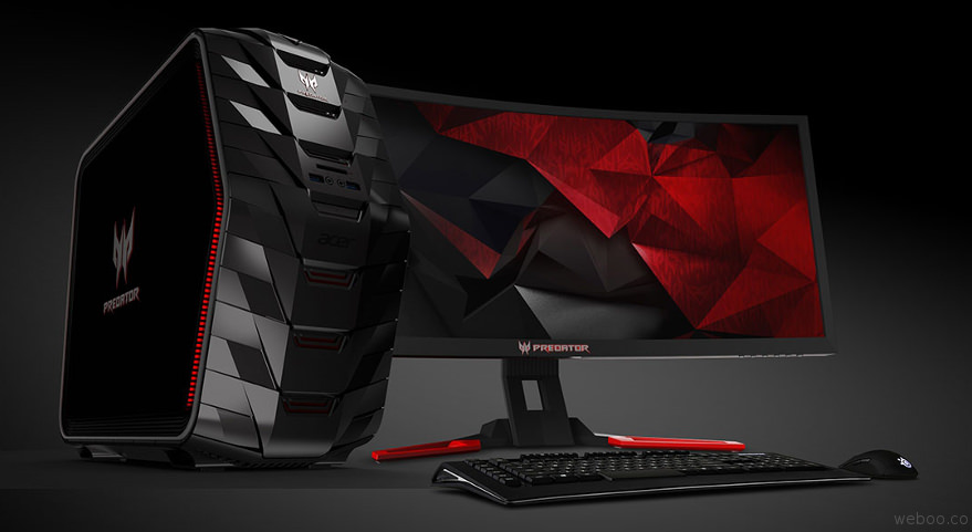 Acer Predator G6 710 Gaming Desktop With Up To 64gb Ddr4
