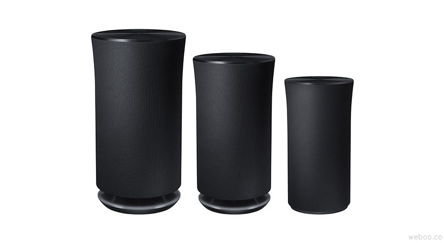 Samsung r5 r3 and r1 wireless audio 360 line up speakers for Jardin stereo 2015 line up