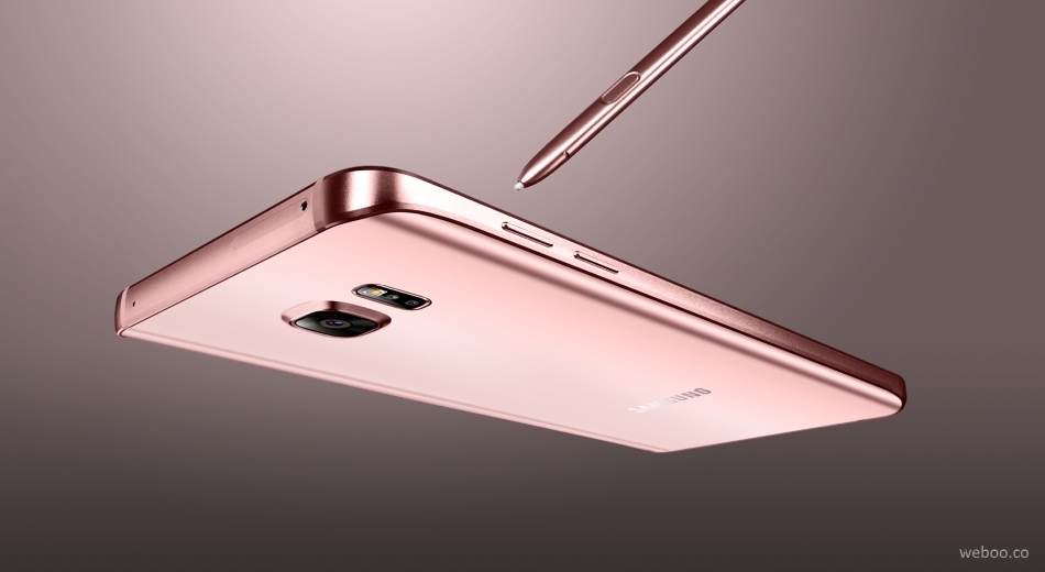 Samsung Galaxy Note 5 Rose Pink Gold Launched In Korea Weboo