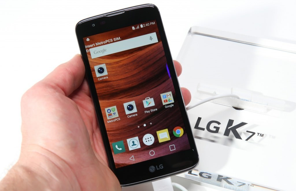 LG K10 and K7 in Picture From Las Vegas CES 2016