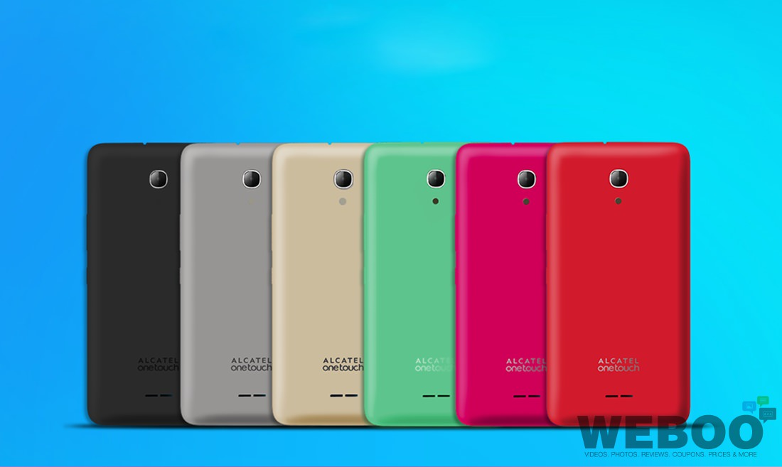 Alcatel Onetouch Pixi  Smartphone With Trendy Removable
