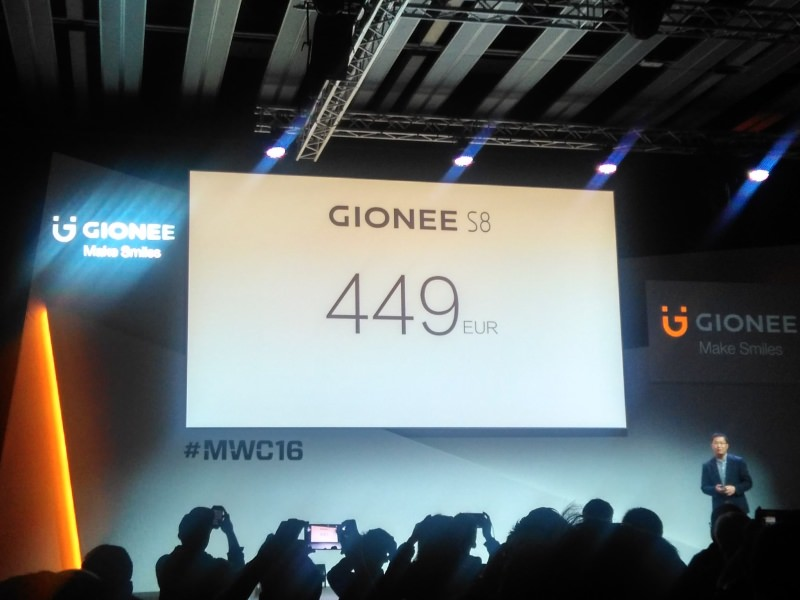 Gionee S8 with 3D Touch Display and 4GB of RAM Priced at 449 Euros 5