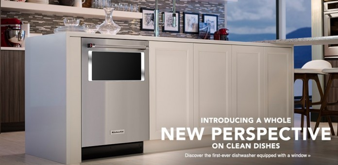 Kitchenaid Dishwasher Lets You Watch Your Dishes Get Washed Weboo,Keeping Up With The Joneses Examples