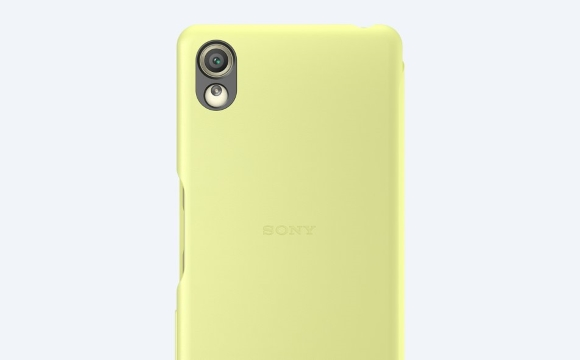 Sony Style Flip Cover Case SCR52 for Xperia X Accessory