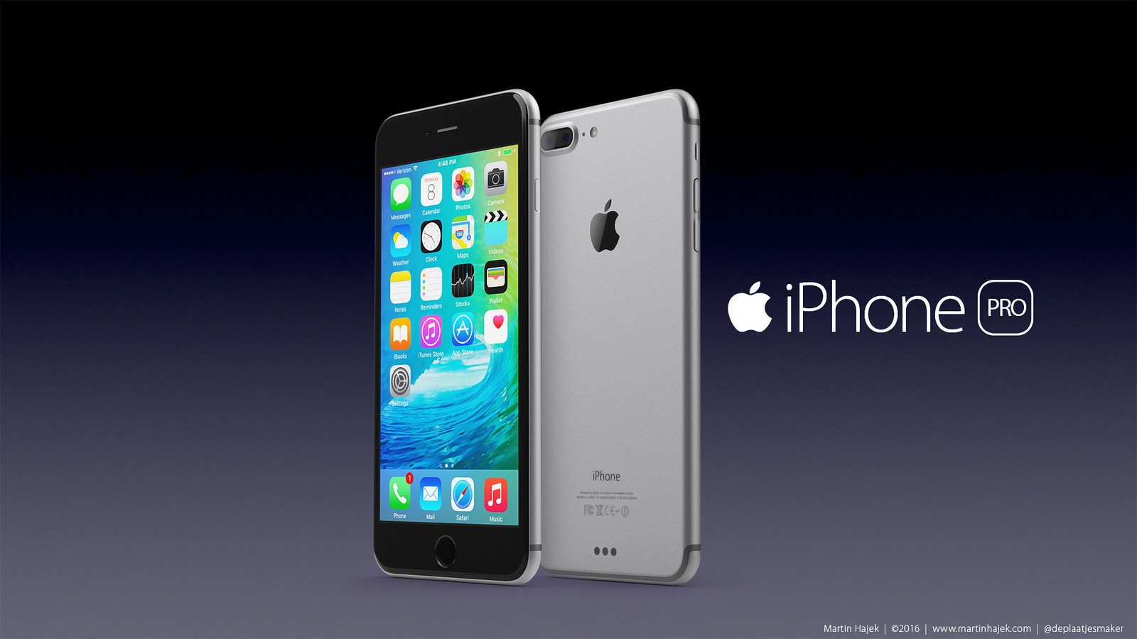 Apples Iphone Se Iphone 7 And Iphone 7 Pro High Resolution 3d