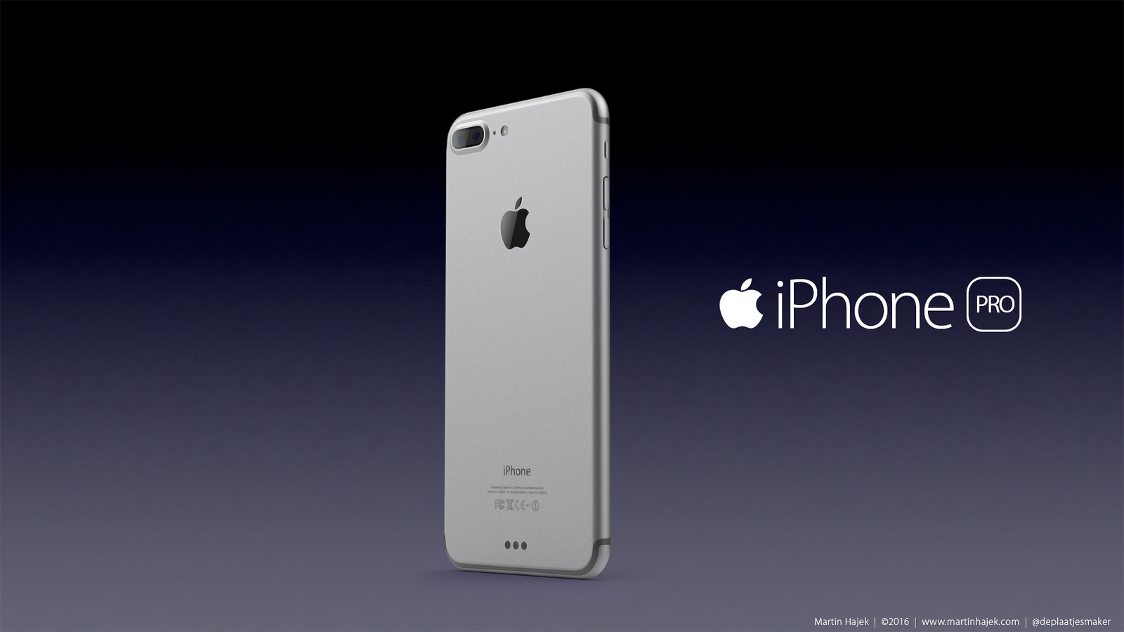 Apple IPhone 7 Pro High Resolution 3D Renders 4