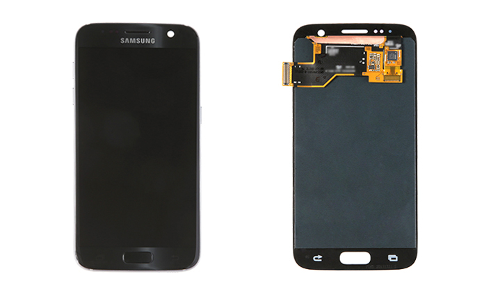 Galaxy S7 Display Front and Back
