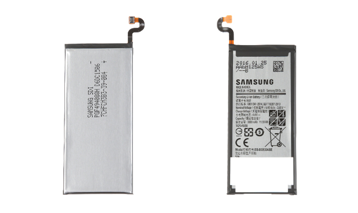 Galaxy S7 and S7 Edge Batteries