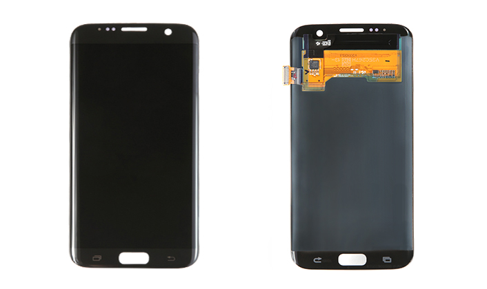 Galaxy S7 Edge Display Front and Back