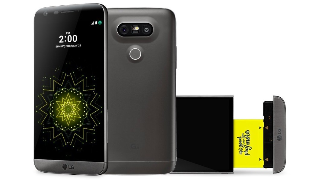 LG G5 Titan Grey Now Available for Pre-ordering in the UK for 529 Pounds