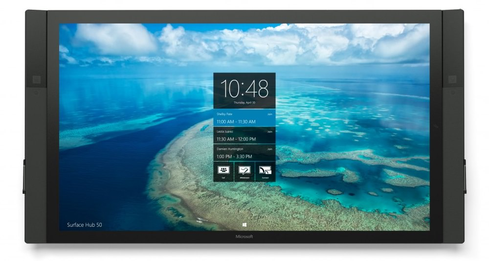 Microsoft Surface Hub 55-inch and 84-inch Starts Shipping