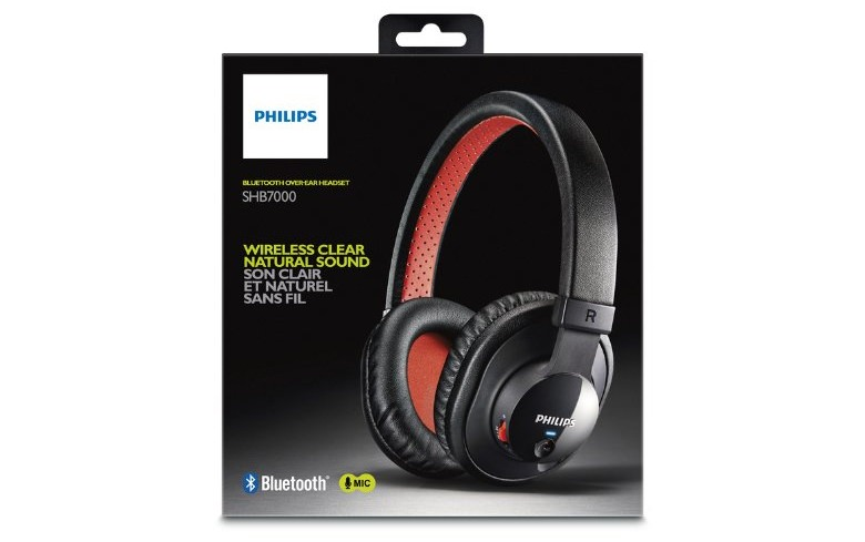 Philips SHB7000/10 Noise Insulation Bluetooth Stereo Headphones