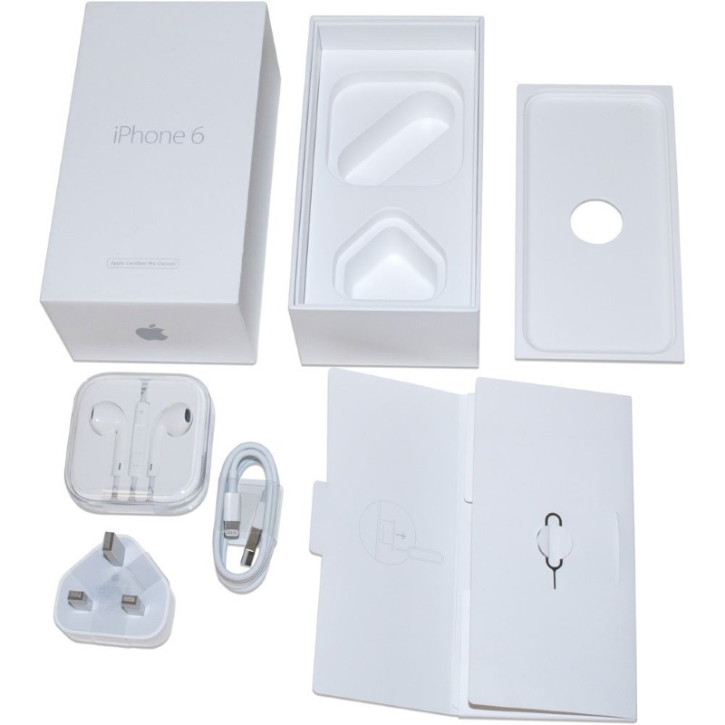 iPhone 6 with Official Apple Accessories