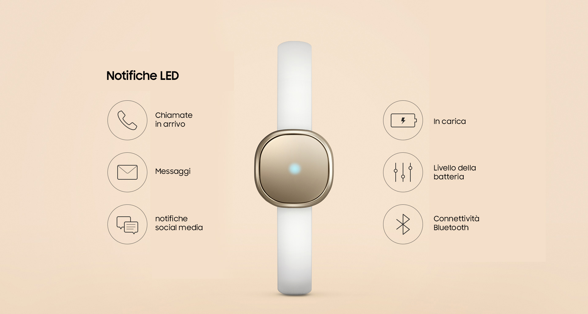 samsung charm fitness band launched in korea italy