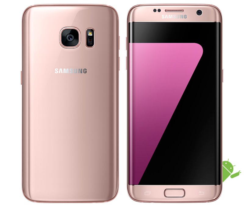 samsung galaxy s7 s7 edge pink gold now available in the. Black Bedroom Furniture Sets. Home Design Ideas