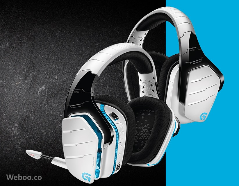 Logitech G933 Artemis Spectrum Snow 7 1 Wireless Gaming