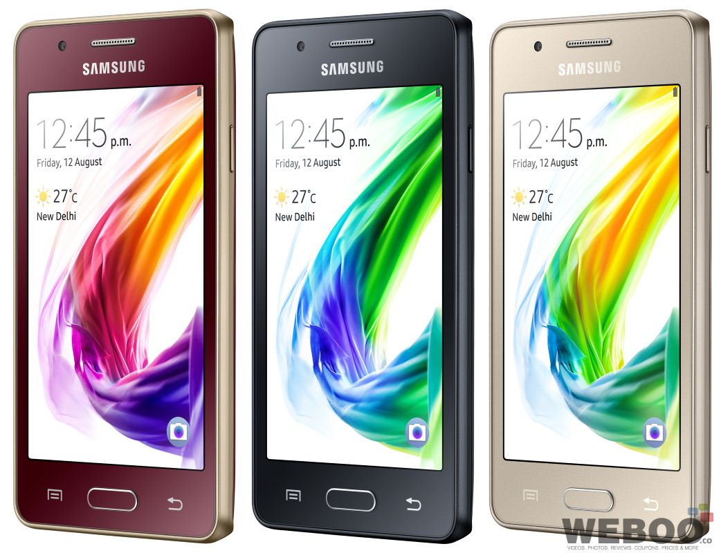 Samsung Z2 Tizen Powered 4G Smartphone Launched In India