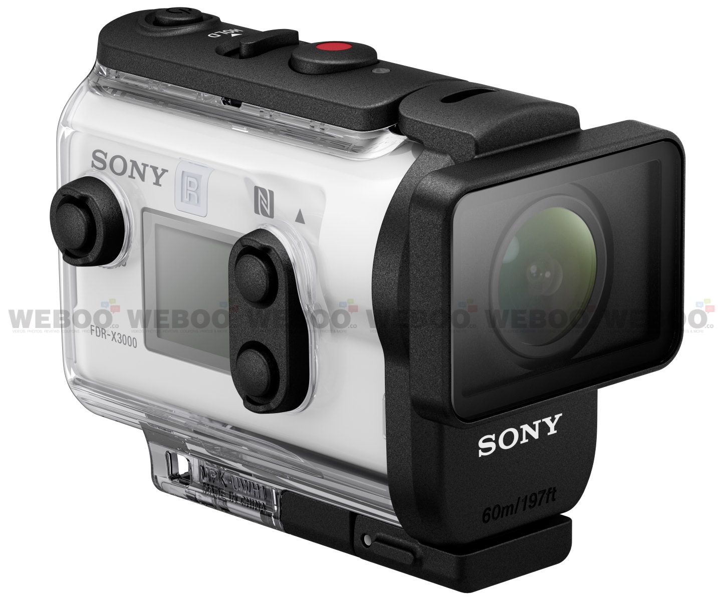 Sony FDR-X3000 4K Action Cam with Built-in Wi-Fi and GPS Unveiled Weboo-co-2