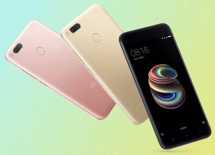 Xiaomi Mi 5X with Dual Camera, Snapdragon 625 and MIUI 9 Officially